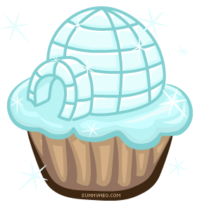 Igloo Cupcake