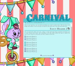 Carnival Petpage