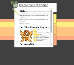 Character Profile/Role Play